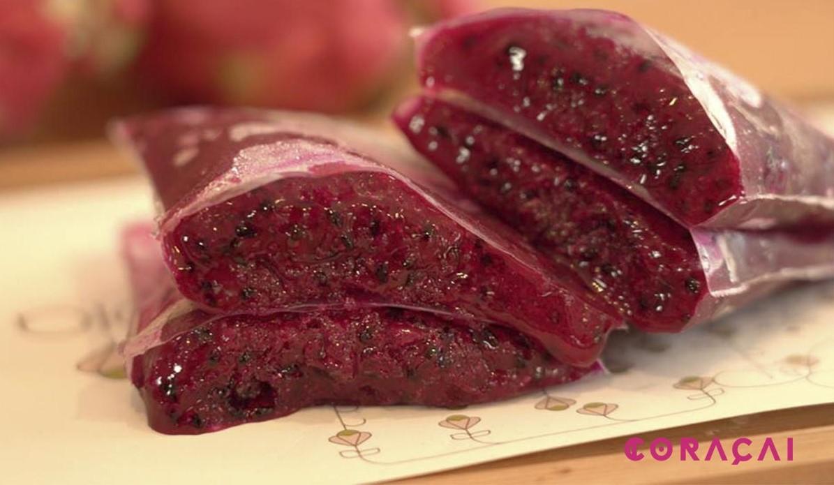 pulpa congelada Pitaya rosa