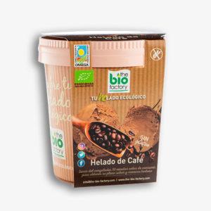 helado ecológico de café