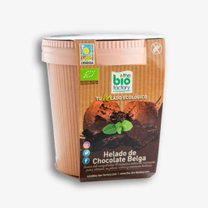 helado de chocolate belga ecologico